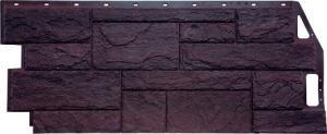Фасадная панель FineBer Камень Природный Коричневый