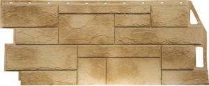 Фасадная панель FineBer Камень Природный Песочный