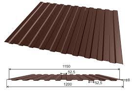 С-8 Профнастил RAL 8017 Шоколад