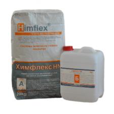 ХИМФЛЕКС HN Полимерсиликатный кислотостойкий клей для плитки (двухупаковочный), 27 кг.