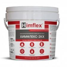 ХИМФЛЕКС-2КХ Химически стойкий клей для плитки (двухкомпонентный) – эпоксидный состав, цвет серый, 10 кг