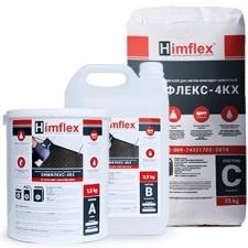 ХИМФЛЕКС-4КХ Химически стойкий клей для плитки эпоксидно-цементный (трехупаковочный), цвет серый, 25 кг.