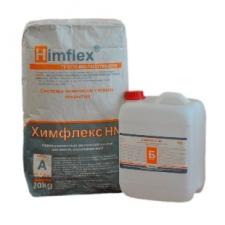 ХИМФЛЕКС НNM Кислотостойкая замазка, двухупаковочная, полимерсиликатный состав, 21 кг.