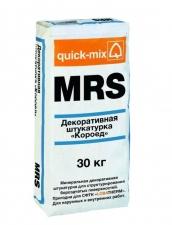 MRS Декоративная штукатурка «Короед», 3 мм, белая, quick-mix