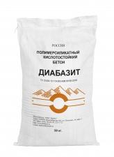 Полимерсиликатный кислотостойкий бетон Диабазовый