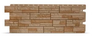 Фасадная панель Docke Stein (Мелкий камень) Осенний лес