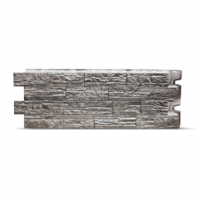 Фасадная панель Docke Stein (Мелкий камень) Базальт