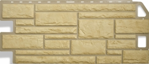 Фасадная панель Альта-Профиль Камень Жёлтый