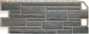 Фасадная панель Альта-Профиль Камень Серый