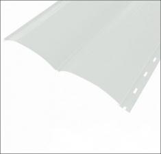 Сайдинг Металлический БРЕВНО (Woodstock) RAL 9003 Сигнально белый