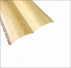 Сайдинг Металлический БРЕВНО (Woodstock) Светлое Дерево 3Д