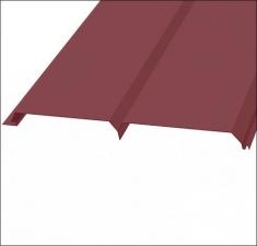 Сайдинг металлический БРУС (L-брус) RAL 3005 Красное Вино