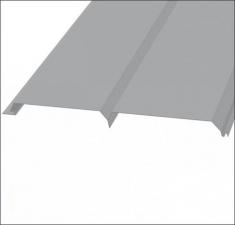 Сайдинг металлический БРУС (L-брус) RAL 7004 Серый