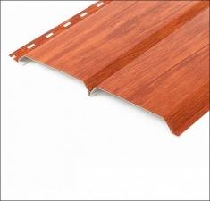 Сайдинг металлический БРУС (L-брус) Рыжее Дерево