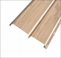 Сайдинг металлический БРУС (L-брус) Светлое Дерево